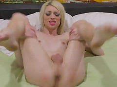Smoking hot Grooby girl Holly Parker is a tall, sexy, horny, and fun filled transgirl with a hot body, sexy small tits, a great ass and a delicious cock! Watch this horny transgirl jacking off and cumming!