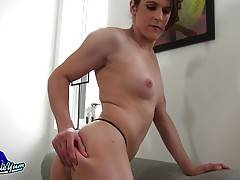 Bailey Love is a sexy tgirl with a pretty face, beautiful tits, a great ass and a delicious cock! Watch this horny transgirl stroking her dick for you!